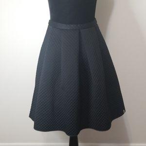 ALBERTO BIANI and HYDROGEN black skirt. Size  8
